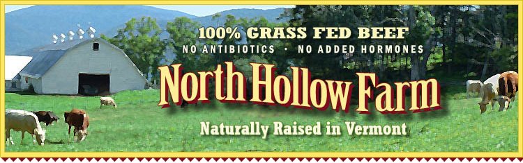 Vermont Grass Fed Beef and Natural Meats from North Hollow Farm